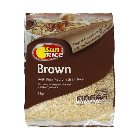 Brown Long Grain Rice 2kg