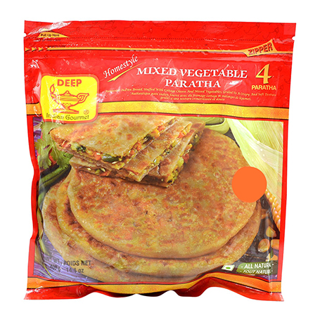 Deep  Mixed Veg Paratha