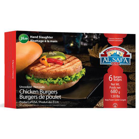 Al Safa  Chicken Breast Burger