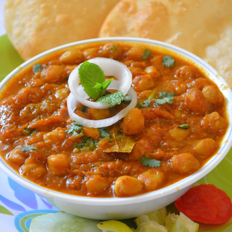 Chole Bhature Kati
