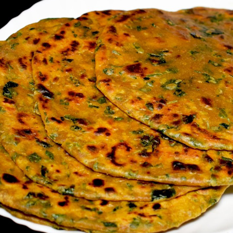 Mom Made  Methi Paratha