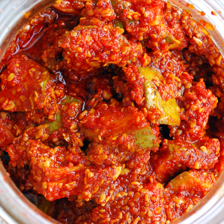 Mango Pickle Hot