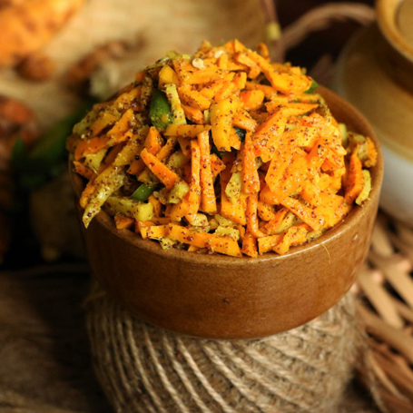Carrot Chilli Pickle
