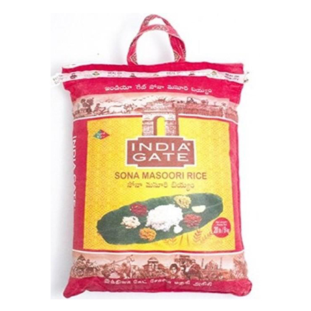 India Gate Sona Masoori 20lb