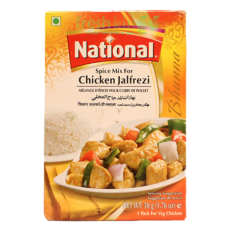 National Chicken Jalfrezi